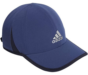 NEW adidas Men's AEROREADY Superlite Cap-Tech Indigo Blue/Legend Ink Blue/Silver