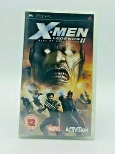 X-Men Legends 2 Rise of Apocalypse - PSP - Complete in Box with Manual
