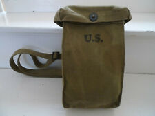US ARMY WW2 SACOCHE PORTE CHARGEURS THOMPSON ORIGINAL INDEPENDENT AWNINGS 1942