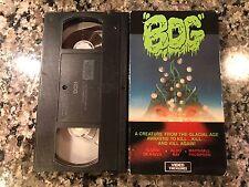 BOG VHS! 1979 Cult Swamp Horror! Blood Beach Mausoleum Shrieker The Beast Within