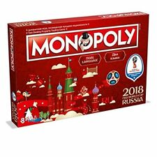 FIFA World Cup Russia 2018 Monopoly - Football Gift For Christmas Birthday Boys