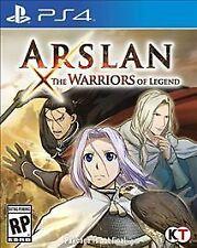 Arslan: The Warriors of Legend (Sony PlayStation 4, 2016)