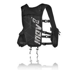 Inov-8 Race Elite Mens Womens Black Running Vest Pack Carry On Backpack Rucksack