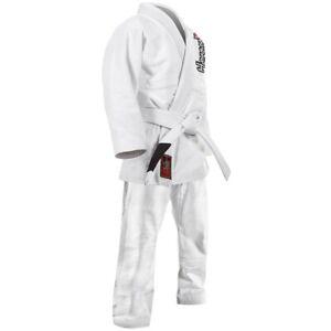 Hayabusa Yuushi Jiu Jitsu Youth Gi White Size Y3