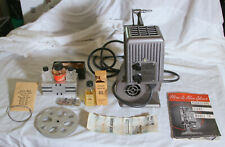Kodascope Eight Model 70 8mm Movie Projector with original case, and accessories