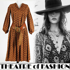 VINTAGE 70s LAURA ASHLEY DRESS 12 10 8 14 16 INDIAN WEDDING BOHO VICTORIAN WALES
