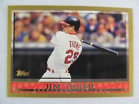 Jim Thome Cleveland Indians 1998 Topps Baseball Card 290