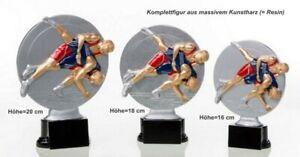 3er Serie Pokale Ringen ST3921789 (H=20-16cm) inkl.Gravur 46,75 EUR