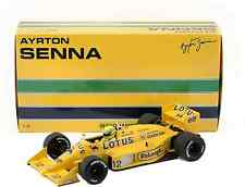 MINICHAMPS 540871812 1/18 F1 LOTUS HONDA 99T AYRTON SENNA 1987 SENNA COLLECTION