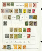 Luxembourg Loaded High Value 1800s to 2000 Mint & Used Stamp Collection