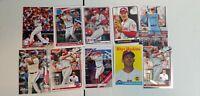 Rhys Hoskins Baseball Card Lot:Mixed Years/Makes NR-Mint Philadelphia Phillies