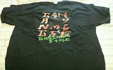 New oppa gangnam style keep calm Black t-shirt 3XL