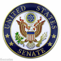 UNITED STATES SENATE SEAL SENATOR LAPEL BADGE PIN