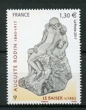 France 2017 MNH Auguste Rodin The Kiss Le Baiser 1v Set Sculptures Art Stamps