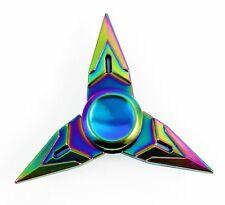 Overwatch Tri-Spinner Toy Fidget Metal EDC Hand Finger Spinner Desk Focus Toy Y9