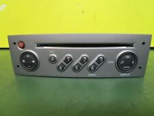 RENAULT SCENIC MK2 03-09 CD PLAYER UNIT WITH CODE 8200562686T