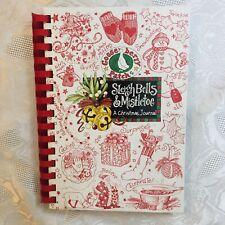 GOOSEBERRY PATCH SLEIGHBELLS & MISTLETOE CHRISTMAS JOURNAL BOOK