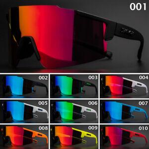 3 Lens Cycling Glasses Goggles Sport Sunglasses UV400 Running Fishing Eyewear