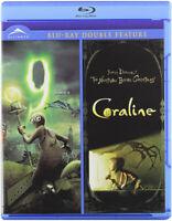 9 / Coraline (Double Feature) (Blu-ray) (Bilin New Blu