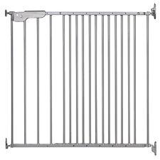 DOLLE Treppenschutzgitter Metall Türgitter Kinder Absperr Gitter 74,4 - 113 cm