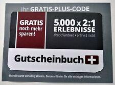 Schlemmerblock+ Gutscheinbuch Plus Card gültig bis 12/2020;  2:1 Gutscheine