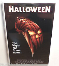 "Halloween Movie Poster 2"" x 3"" Refrigerator Locker MAGNET Michael Myers"