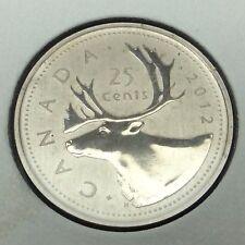 2012 Specimen Canada 25 Cents Quarter Canadian Uncirculated Coin B973