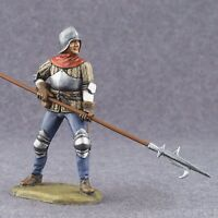 Tin Toy Soldier 1/32 scale Painted Military Figures Infantryman Knight 54mm