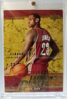 2003 03-04 Upper Deck LeBron's Diary LeBron James Rookie RC #LJ9, Cavs