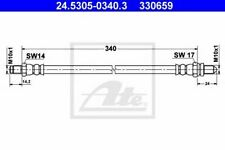 Flexible de frein FORD KA (RB_) 4006633103008