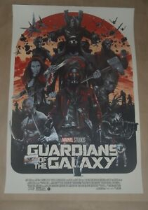 Guardians of the Galaxy Gabz movie poster variant art print Grey Matter