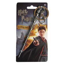 Harry Potter New * Dumbledore's Wand * Pewter Key Chain Key Ring Keychain Magic