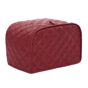 Polyester Quilted Two/ Four Slice Toaster Appliance Cover, Dust Proof and