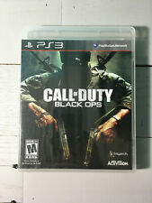 Call of Duty: Black Ops (Sony PlayStation 3, 2010) COMPLETE CIB