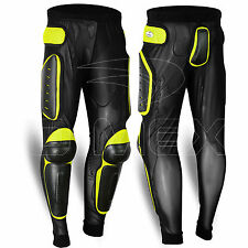 Body Armour Motorcycle Motorbike Trouser Snowbaords Skating Pants MX Protection All Black M