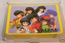 NEW IN BOX RANMA 1/2  PLAYING CARDS DECK