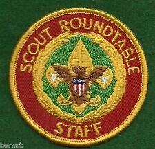 BOY SCOUT ADULT POSITION PATCH - SCOUT ROUNDTABLE STAFF