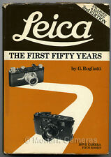 Leica The First 50 Years, 2nd Hove Edition. More Camera Books & Manuals Listed