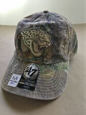 a782cfcf7 Men s Jacksonville Jaguar Franchise Fitted Hat Realtree Camo Size Large 7⅜″
