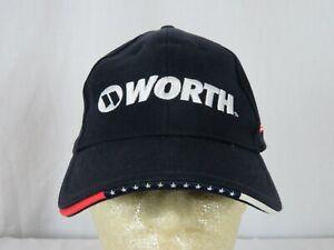 Worth Baseball Softball Fitted Flex Hat Large / XL