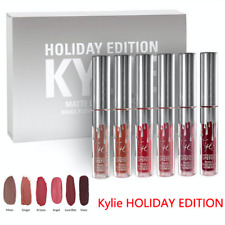 Kylie Jenner Holiday Edition Mini Matte Lip Kit Natural Liquid Lipstick Gift Set