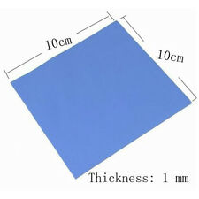 100x100x1mm Silicon Chip Thermal Pad Heatsink Conductive Insulation Paste Bes