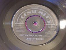"""Dorothy Moore: Funny how time slips away  EX+  Contempo  7"""""""