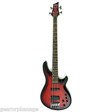 Schecter C-4 Custom Trans Crimson Stain TCS Bass Guitar C4