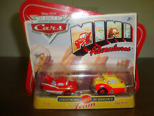 Disney---Cars---Lightning McQueen's Team---Flo & Sheriff---Diecast