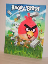Rovio Angry Birds Crashing Stone Wall Pigs Flying Lenticular 3D Poster 11 x 14