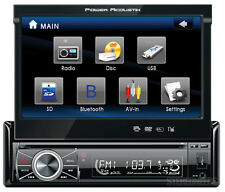 "POWER ACOUSTIK PTID-8920B CAR 7"" MONITOR CD/IPOD/DVD PLAYER RECEIVER BLUETOOTH"