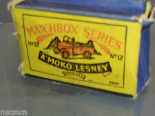 MATCHBOX  MOKO LESNEY MODEL No.12a LANDROVER  VN MIB