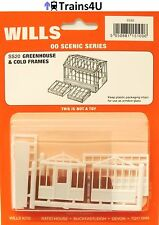 Wills SS20 Greenhouse & Cold Frames (OO Scale)