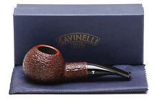 Savinelli Hercules Brownblast EX 320 Tobacco Pipe
